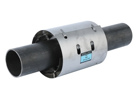 Pipe coupling with fire protection